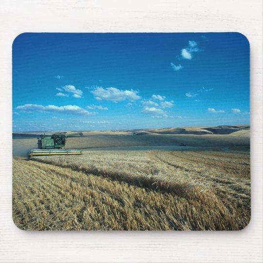 Barley harvest mouse pad