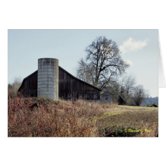 Barn and Silo - Card & Envelope