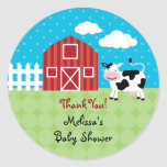 Barn Animals Favour Sticker