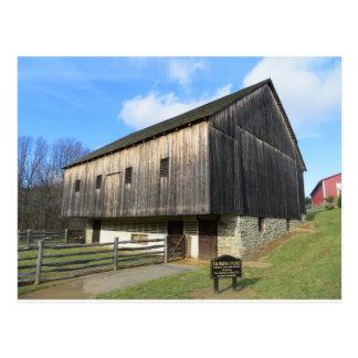 Barn At The Carroll County Farm Museum Postcard