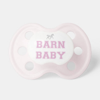 Barn Baby Pacifier - Pink