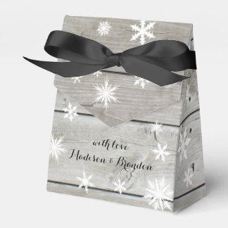 Barn Board Holiday Gift Box