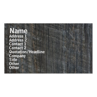 Barn Board Nature Photography Business Card