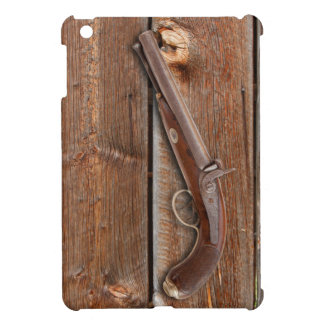 BARN BOARD WITH GUN COVER FOR THE iPad MINI