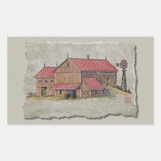 Barn Buggy & Windmill