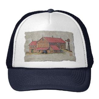 Barn Buggy & Windmill Trucker Hat