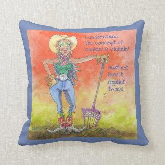 Barn Chick Pillow