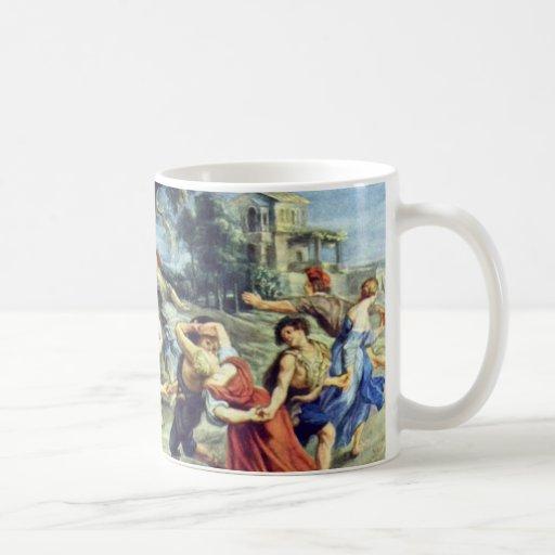 Barn Dance By Rubens Peter Paul (Best Quality) Coffee Mugs