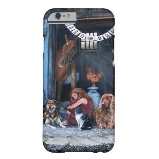 Barn Dance Original Acrylic Painting iPhone 6 Case