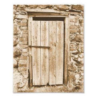 BARN DOOR PHOTO PRINT
