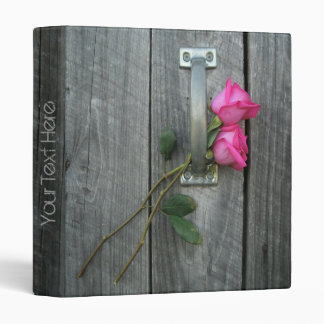 Barn Door Roses Binder