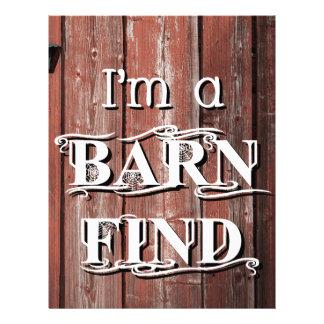 Barn Find Letterhead
