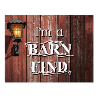 Barn Find Postcard