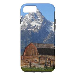 Barn grand Tetons mountains iPhone 7 Case