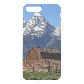 Barn grand Tetons mountains iPhone 7 Plus Case