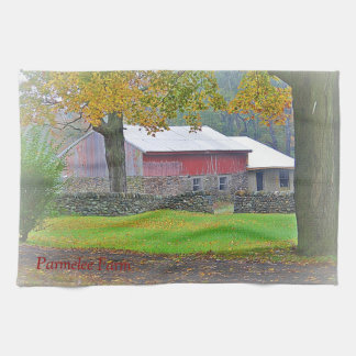 Barn Kitchen Towel
