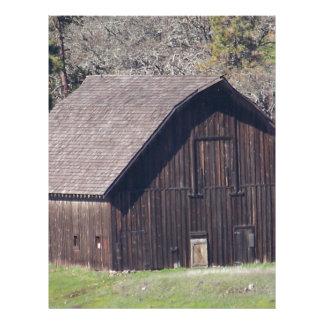 Barn Letterhead