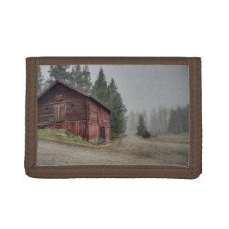 Barn Nature Country Money Destiny'S Destiny Tri-fold Wallets
