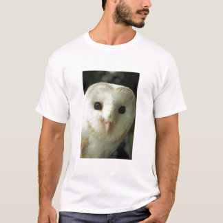 Barn Owl Adult Tee Shirt