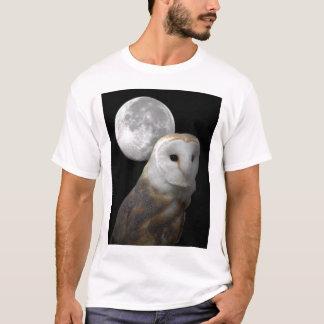 Barn Owl and the Moon shirt