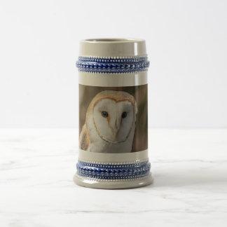 Barn Owl Beer Stein