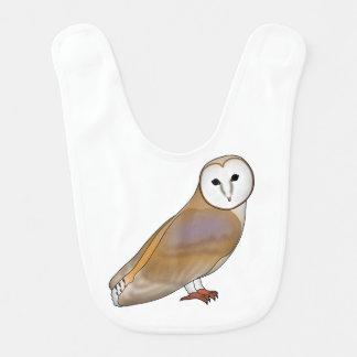 Barn owl bib