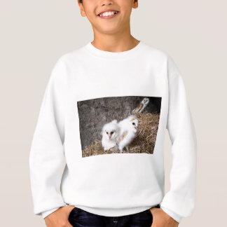 Barn Owl Chicks In A Nest Sweatshirt