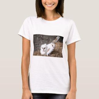 Barn Owl Chicks In A Nest T-Shirt