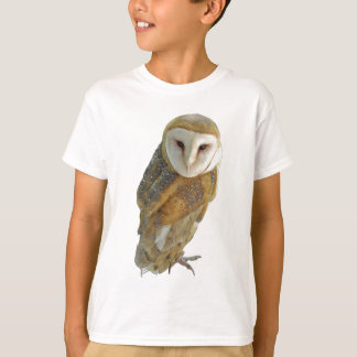 Barn owl child's t-shirt