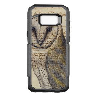 Barn Owl Collage OtterBox Commuter Samsung Galaxy S8+ Case