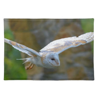 Barn Owl Flying Placemat