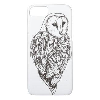 Barn owl iPhone 8/7 case