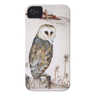 Barn Owl on the hunt iPhone 4 Case-Mate Cases