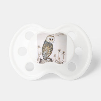 Barn Owl on the hunt Pacifier