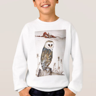 Barn Owl on the hunt Sweatshirt