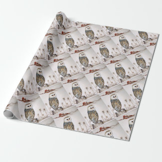 Barn Owl on the hunt Wrapping Paper