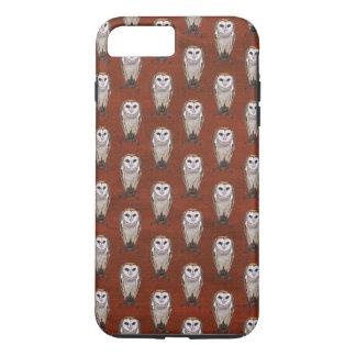 BARN OWL PATTERN iPhone 8 PLUS/7 PLUS CASE