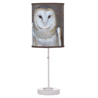Barn Owl Photo Table Lamp