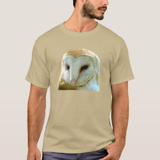 Barn Owl Portrait T-Shirt