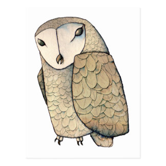 Barn Owl Postcard
