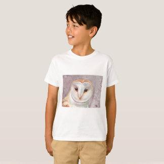 Barn Owl watercolor tee