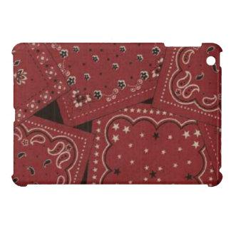 Barn Red Bandana iPad Mini Glossy Finish Case iPad Mini Case