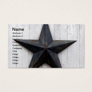 Barn Star Business Card