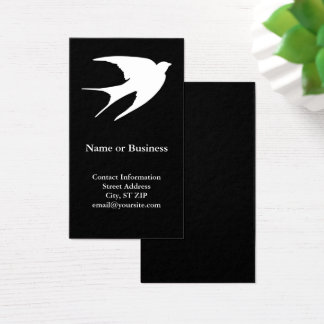 Barn Swallow Business Card