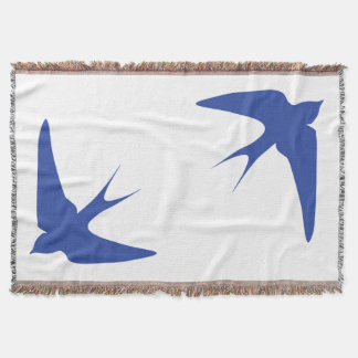 Barn Swallow Throw