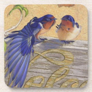 Barn Swallows, Bluebirds Coaster