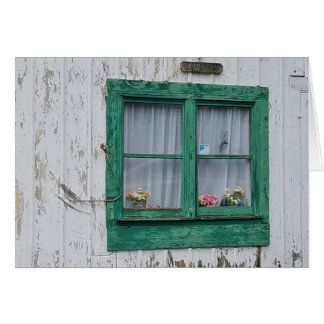 Barn Window,  envelope included Card
