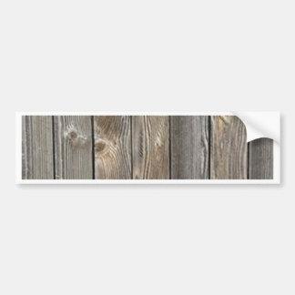 Barn Wood Bumper Sticker