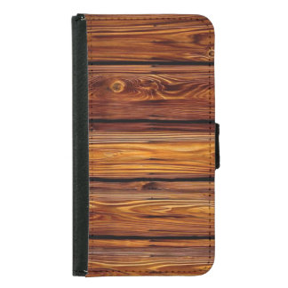 Barn Wood Samsung Galaxy S5 Wallet Case