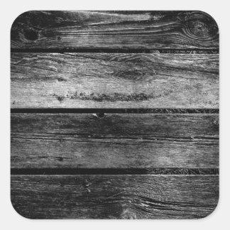 Barn Wood Square Sticker